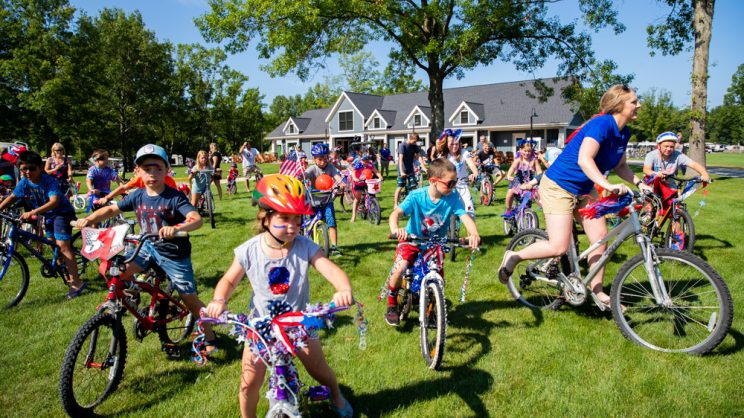 july fourth bike race